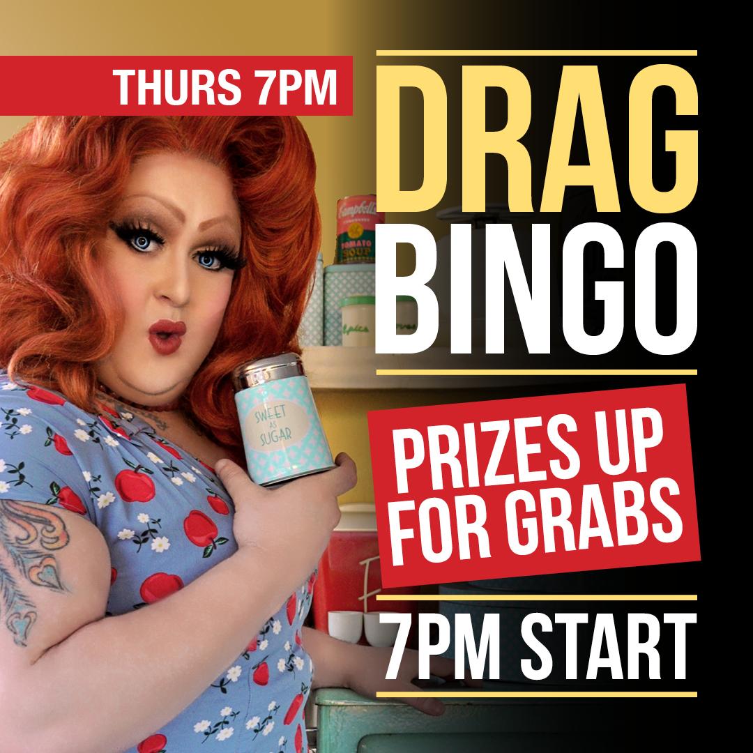 Thursday - Drag Bingo
